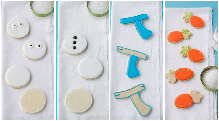 How to Make Simple Snowman Cookies that Need Help via thebearfootbaker.com