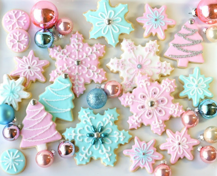 Vintage Pastel Christmas by Glorious Treats
