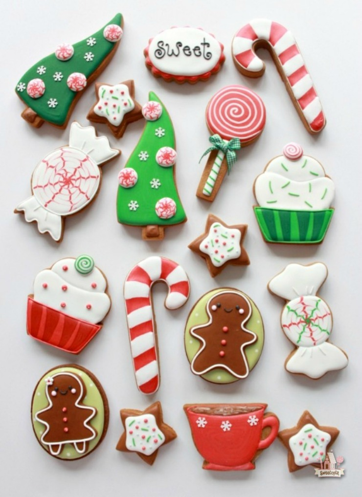 Decorating Christmas Cookies.Awesome Christmas Cookies To Make You Smile The Bearfoot Baker