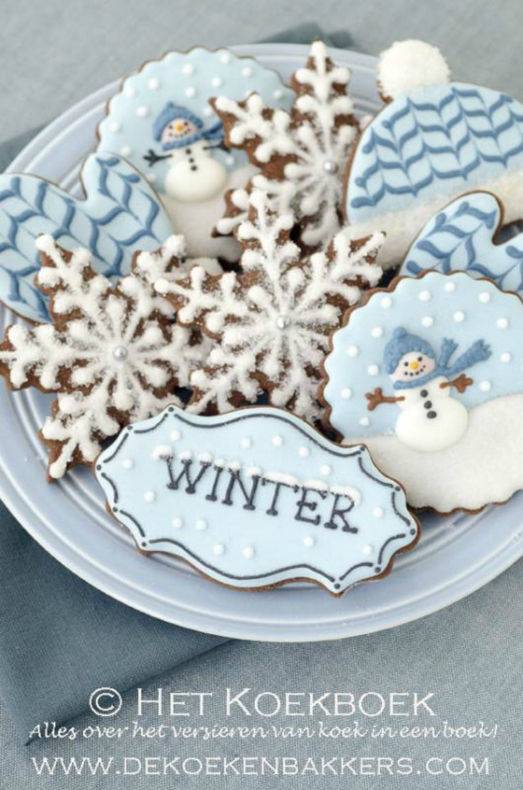 Winter-Cookies by Dekoekenbakkers