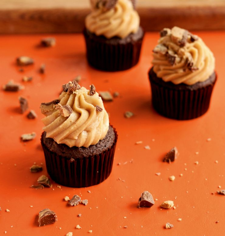 Simple Peanut Butter Frosting Recipe-The Bearfoot Baker