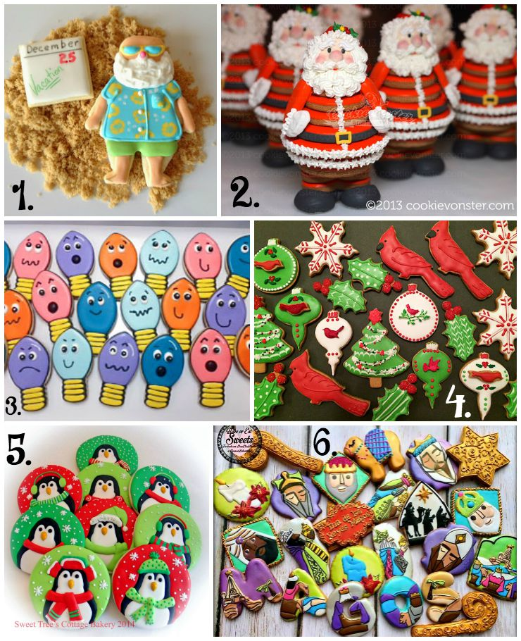 Fun Christmas In July Ideas.Christmas In July Cookie Collage A Fun New Tradition The