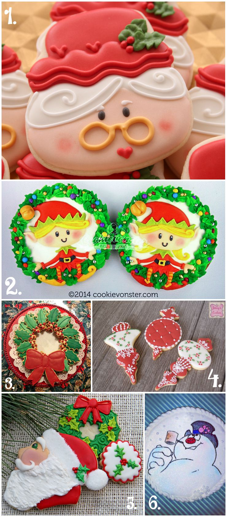 Christmas In July Cookie Collage A Fun New Tradition The Bearfoot