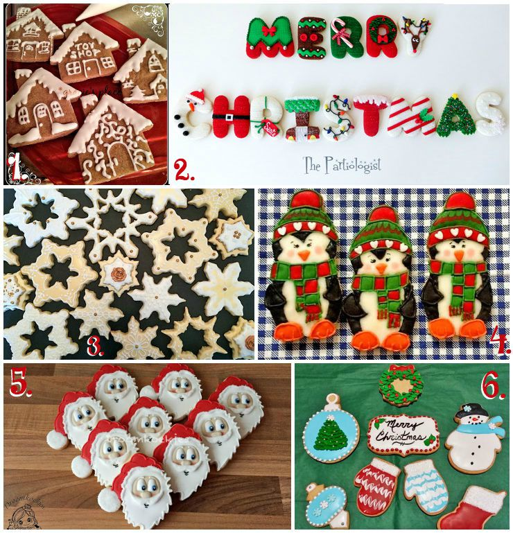 Christmas in July Cookie Collage-A Fun New Tradition Using Your Cookies with www.thebearfootbaker.com