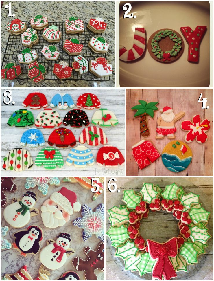 Christmas in July Cookie Collage-A Fun New Tradition by thebearfootbaker.com