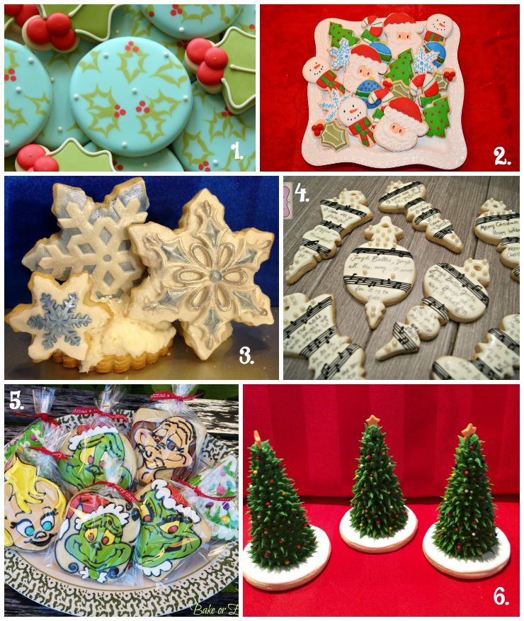 Christmas in July Cookie Collage-A Fun New Tradition thebearfootbaker.com