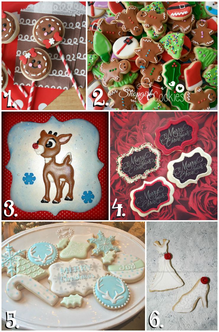 Christmas in July Cookie Collage-A Fun New Tradition via thebearfootbaker.com
