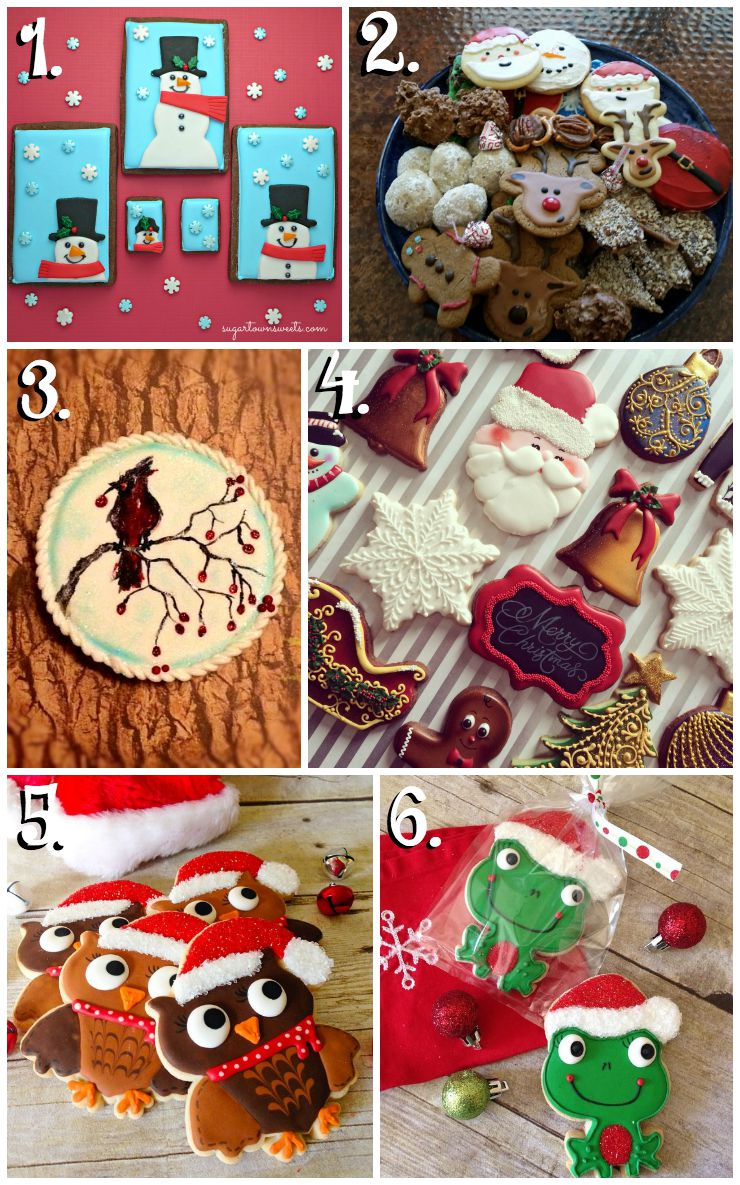 Christmas in July Cookie Collage-A Fun New Tradition via www.thebearfootbaker.com
