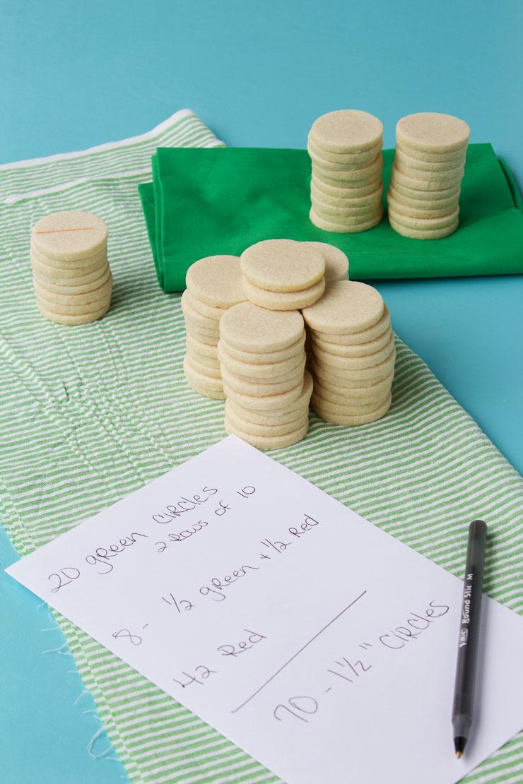 How to Make a Watermelon Cookie Platter-Video via www.thebearfootbaker.com