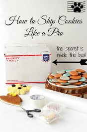 How to Ship Cookies Like a Pro via www.thebearfootbaker.com