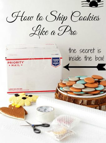 How to Ship Cookies Like a Pro via www.thebearfootbaker.com