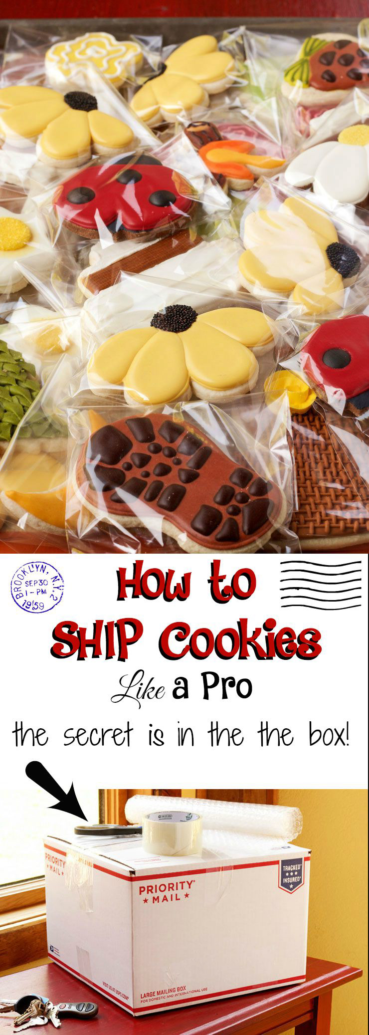 How to Ship Cookies Like a Pro with a How to Video | The Bearfoot Baker