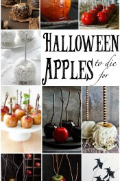 LOOK-Halloween Apples to Die For! www.thebearfootbaker.com