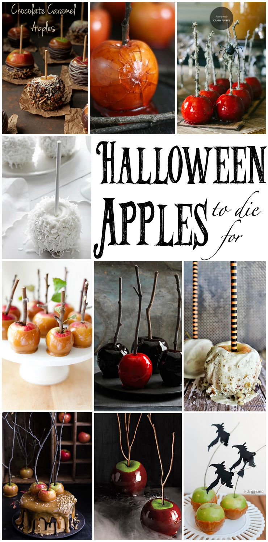 LOOK-Halloween Apples to Die For! www.thebearfootbaker.com