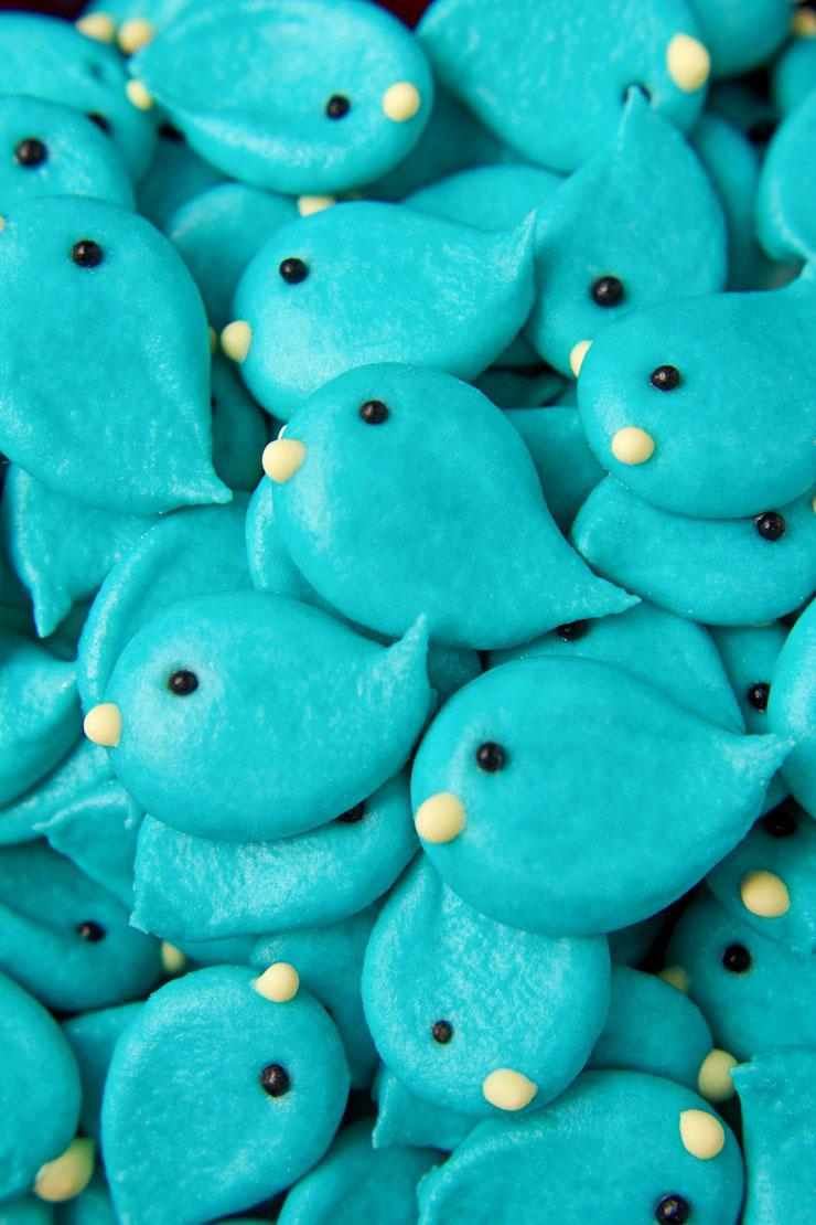 bluebird royal icing transfers