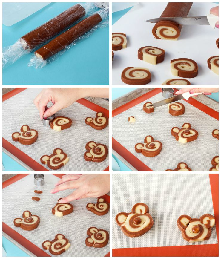 Simple Slice and Bake Bear Cookies via www.thebearfootbaker.com
