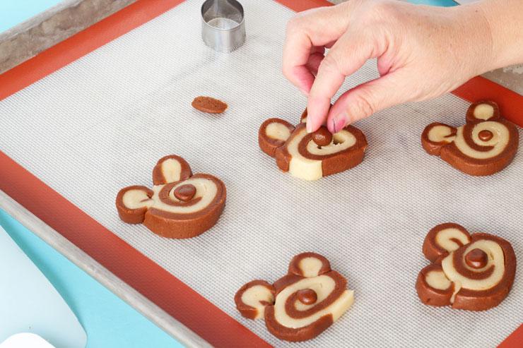 Slice and Bake Bear Cookies www.thebearfootbaker.com