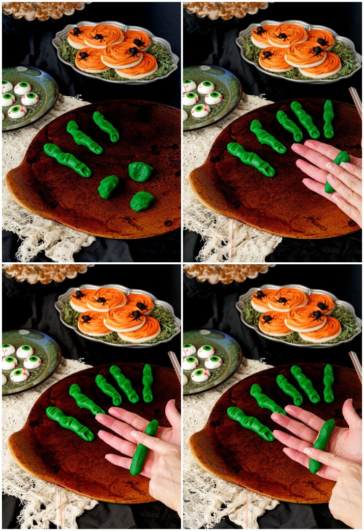 How to Make Creepy Halloween Finger Cookies | The Bearfoot Baker