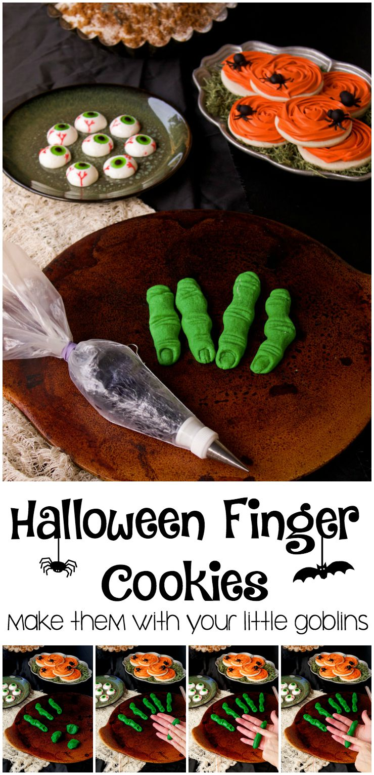 How to Make Halloween Finger Cookies The Bearfoot Baker