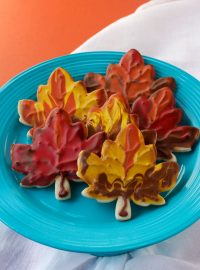 How to Make Leaf Cookies | The Beafoot Baker
