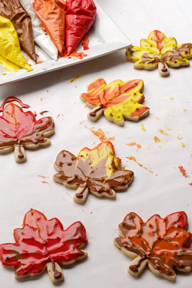 Leaf Cookies Tutorial | The Bearfoot Baker