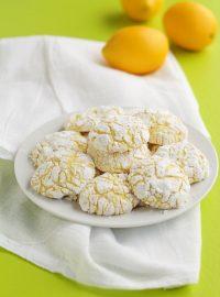 Lemon Crinkle Cookies | The Bearfoot Baker