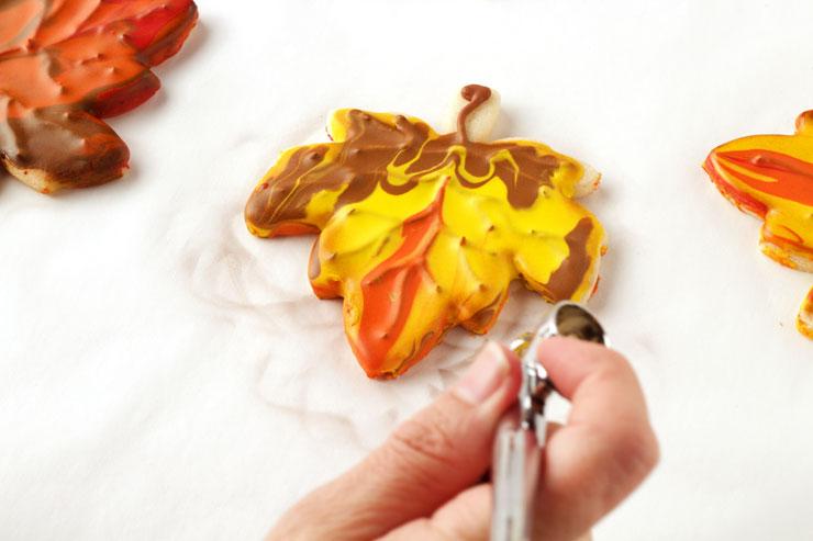 Very Simple Leaf Cookies | The Bearfoot Baker