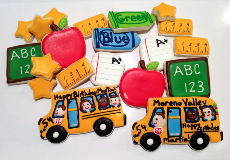 Back to School Round Up - Back to School Cookie by Tammy Cox | The Bearfoot Baker