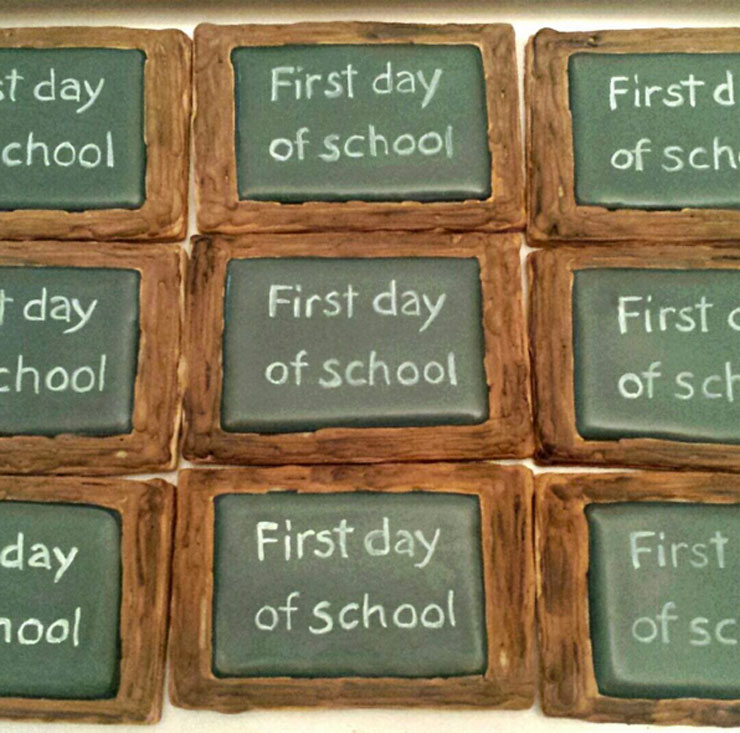 Back to School Round Up - First Day of School by Julie Vancouver | The Bearfoot Baker