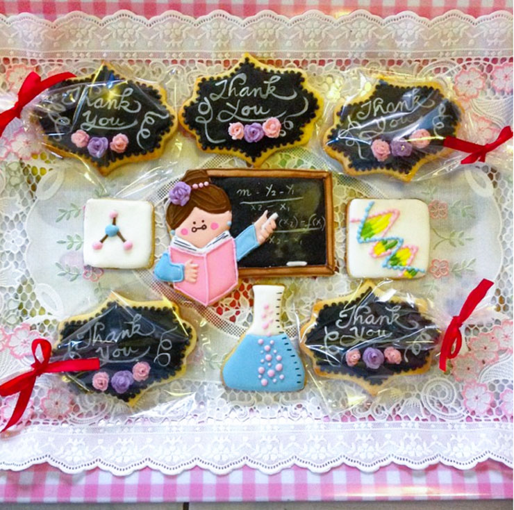 Back to School Round Up - Teacher Appreciation Cookies by Veronica Lee | The Bearfoot Baker