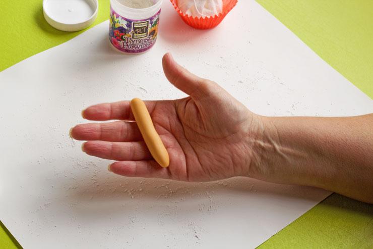 Easy Fondant Fingers Anyone can Make | The Bearfoot Baker