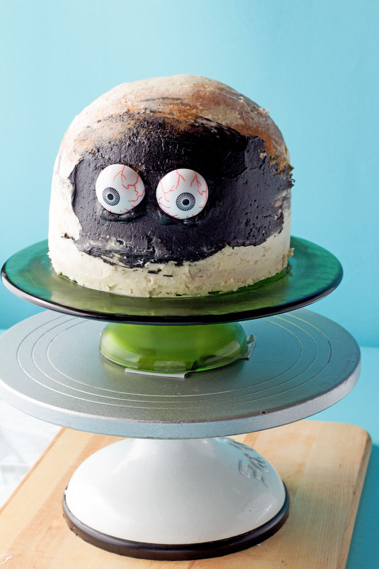 Easy Spooky Mummy Cake with Video | The Barefoot Baker