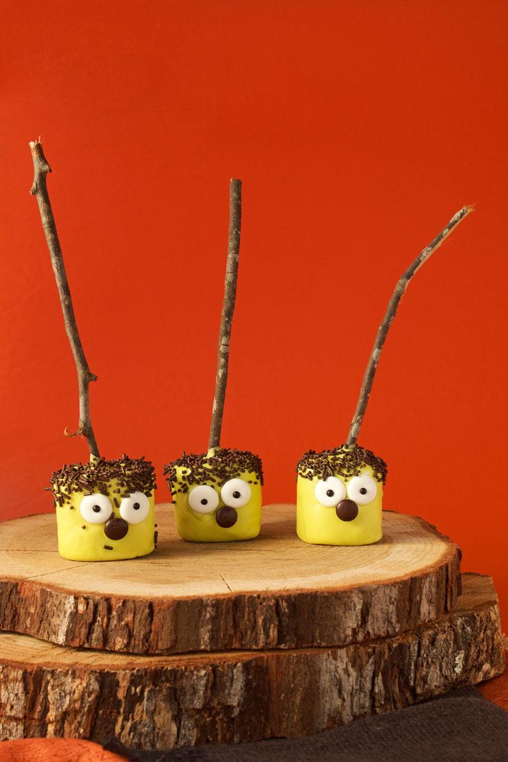 Fun Little Halloween Marshmallow Pops | The Beafoot Baker