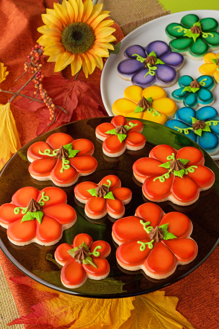 Pumpkin Cookies for Fall   The Bearfoot Baker