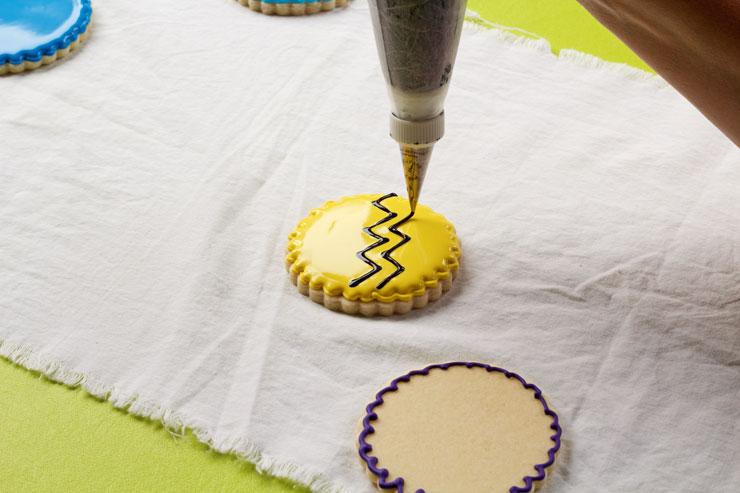Easy Charlie Brown Cookies | The Bearfoot Baker