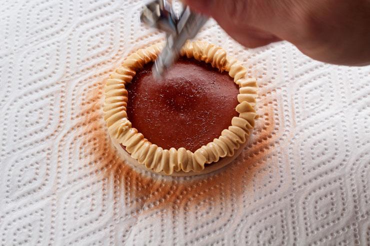 How to Make Pumpkin Pie Cookies-Thanksgiving Favors | The Bearfoot Baker