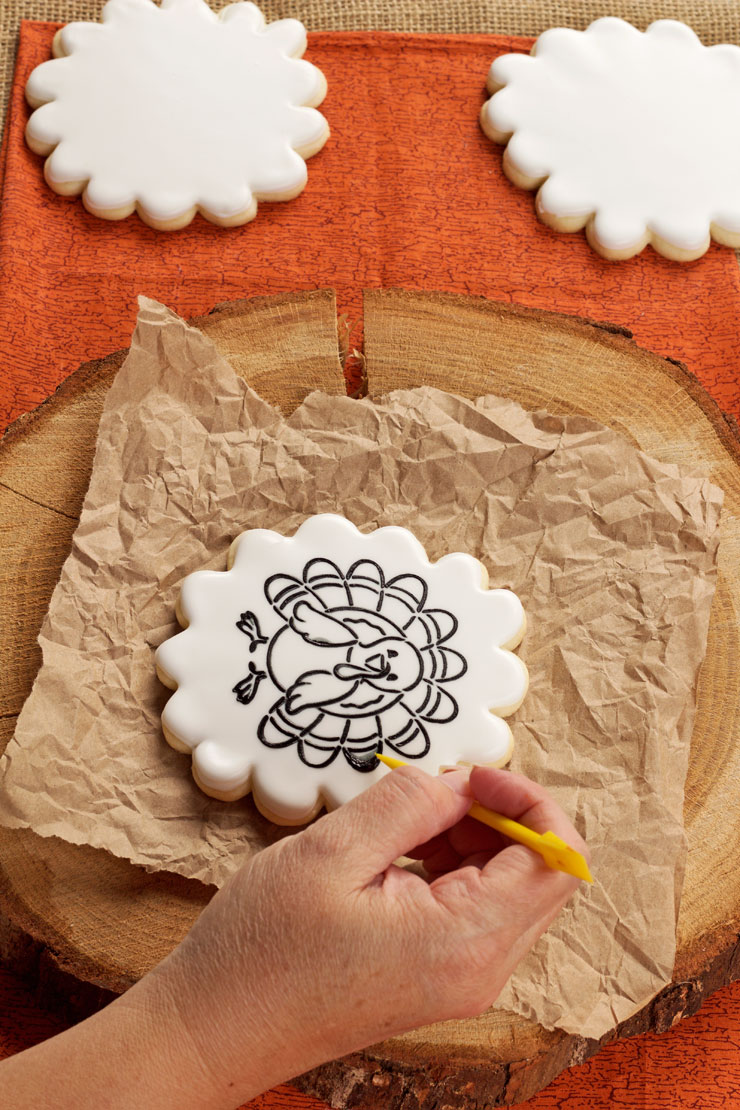How to Paint Your Own Cookie | The Bearfooot Baker