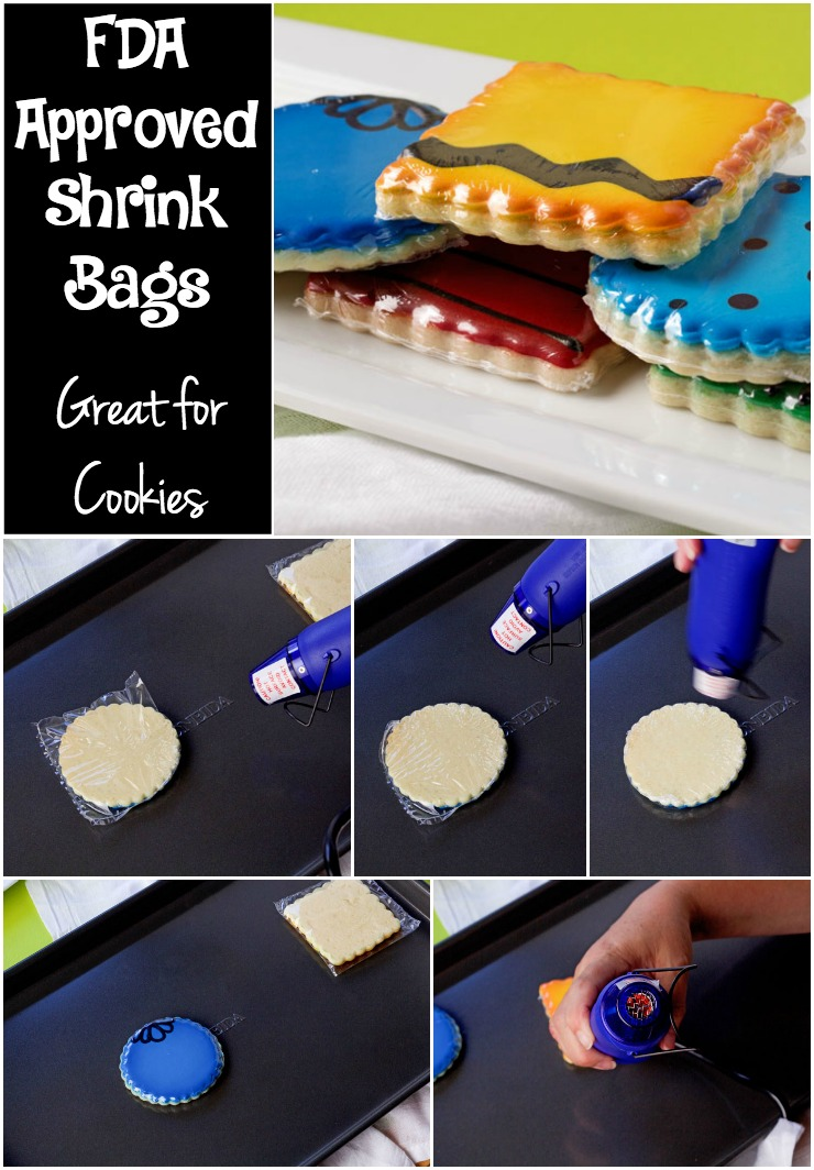 Shrink Bags for Decorated Cookies | The Bearfoot Baker
