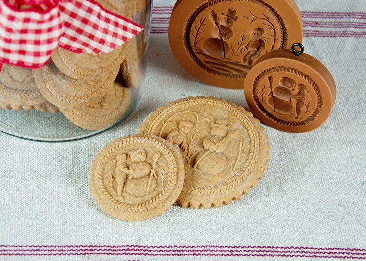 Springerle Joy Christmas Cookies Tutorial | The Bearfoot Baker