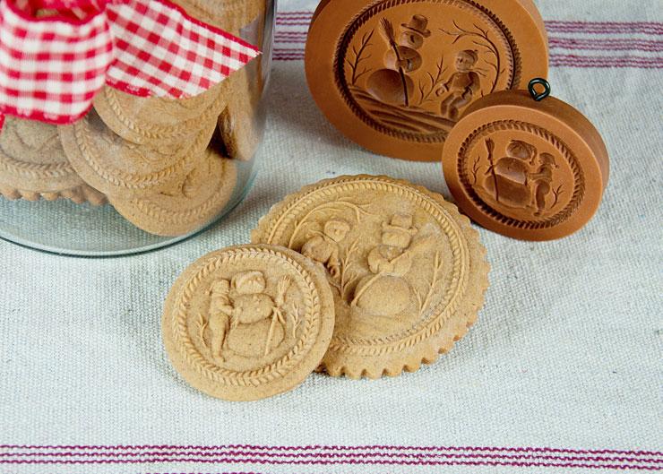 Springerle Joy Christmas Cookies