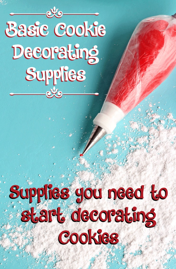 basic cookie decorating supplies what you need to start decorating cookies the bearfoot baker - Christmas Cookie Decorating Supplies