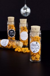 Confetti Cookies in Fun Favor Bottles