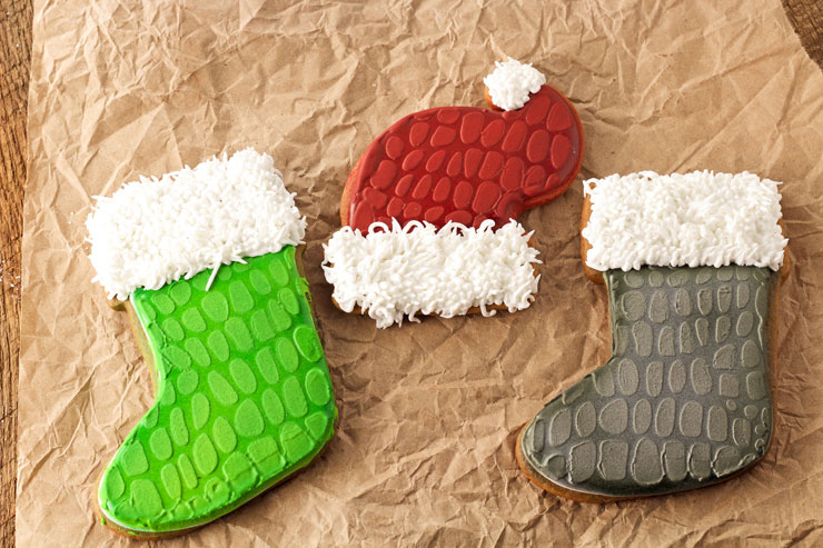 Dinosaur Christmas Cookies | The Bearfoot Baker