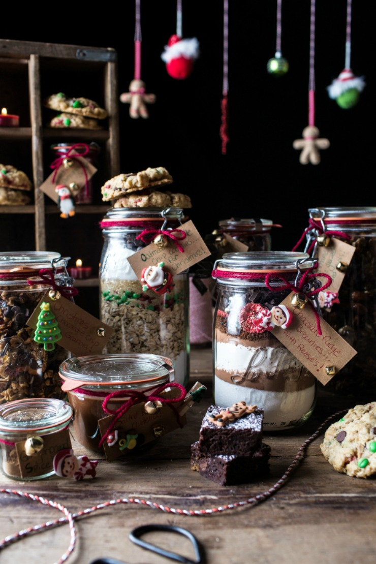Edible Christmas Gifts in Jars Homemade Food Gifts for Christmas | The Bearfoot Baker