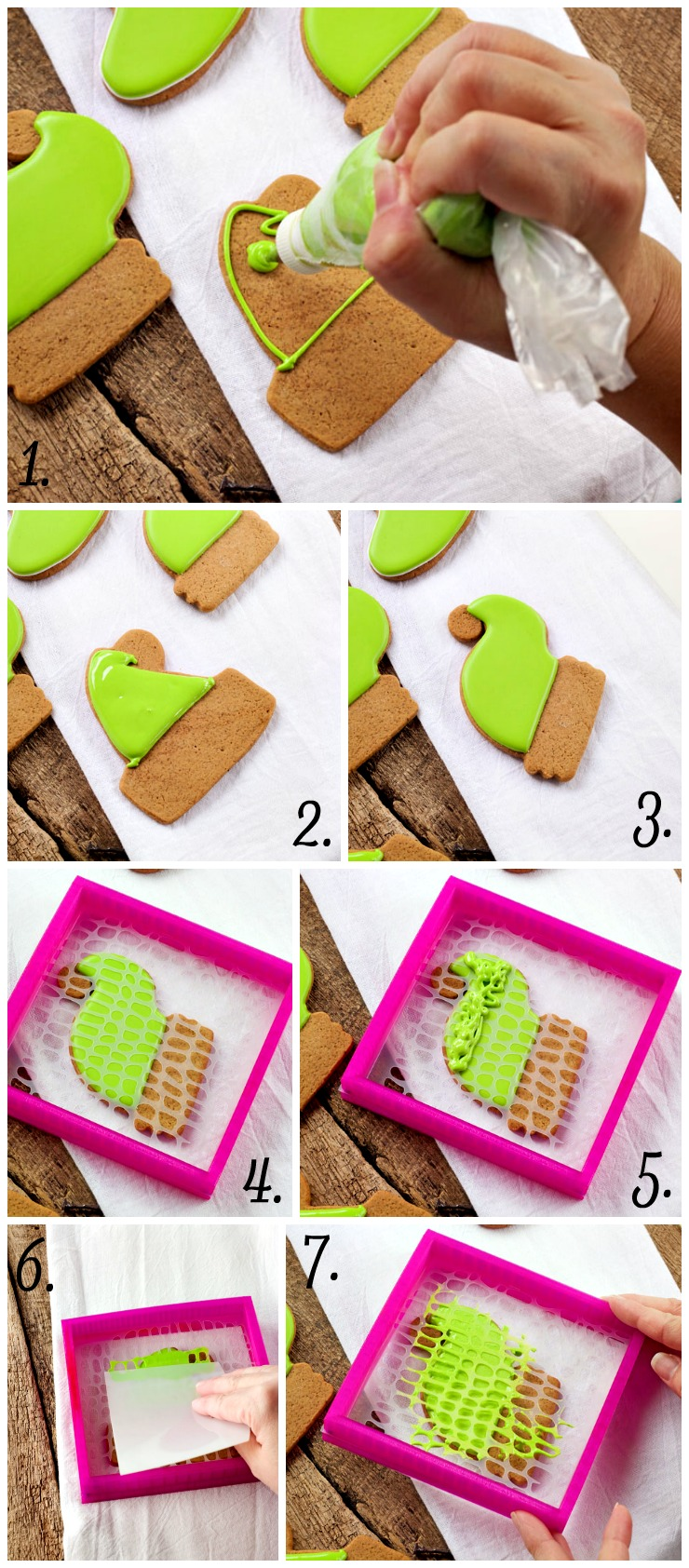 GIve the Kids a Paint Your Own Dinosaur Cookie this Christmas | The Bearfoot Baker