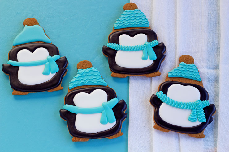 How to Make Simple Penguin Cookies | The Bearfoot Baker