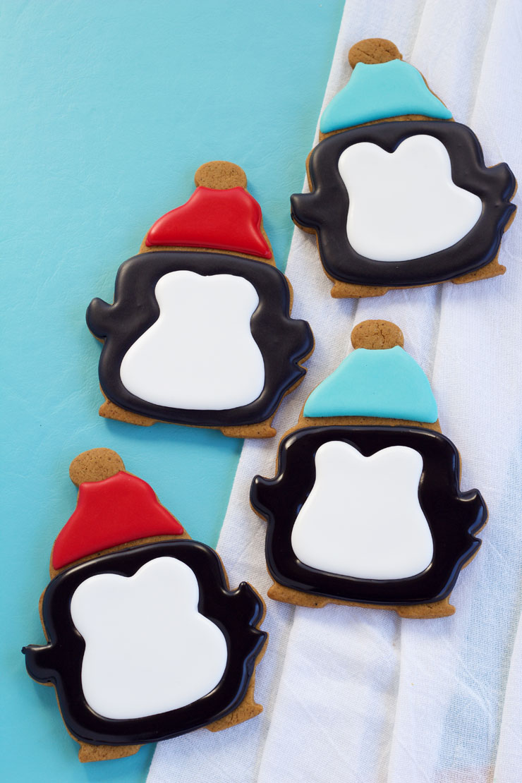 How to make these Fun Simple Penguin Cookies | The Bearfoot Baker