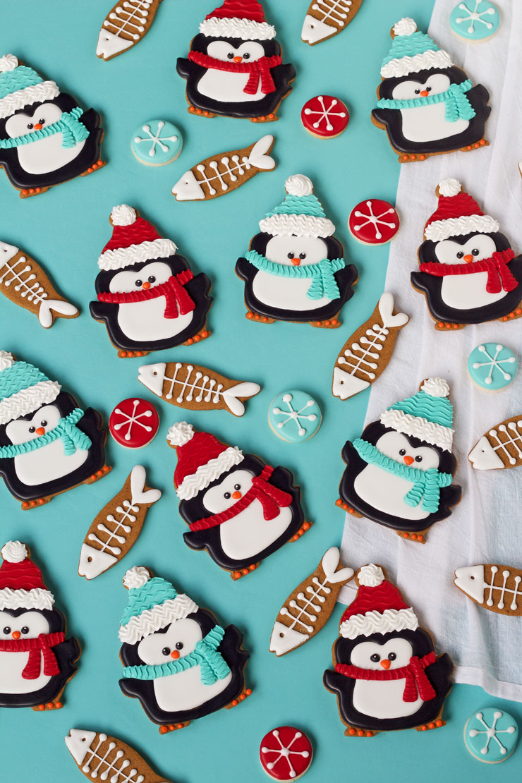 Learn How to Make These Simple Penguin Cookies | The Bearfoot Baker