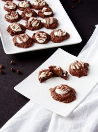 Hot Chocolate Cookies from a Cookie Mix | The Bearfoot Baker