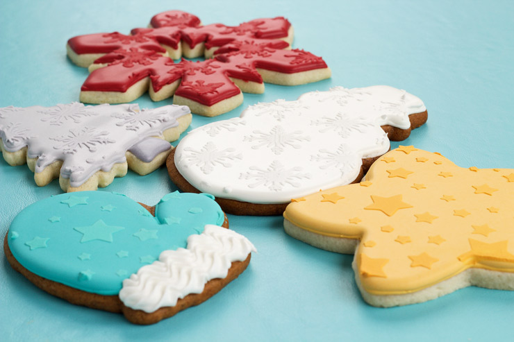 Learn to Stencil Cookies Tutorial with Video | The Bearfoot Baker